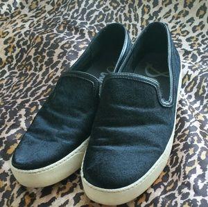 Sam Edelman calfhair slip-on sneakers